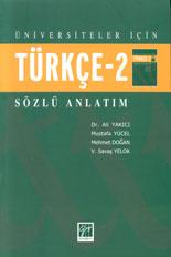 Türkçe-2 Sözlü Anlatım