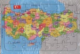 Türkiye Haritası Yapbozlu 25 x 35