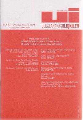 Uluslararası İlişkiler Dergisi Sayı:18