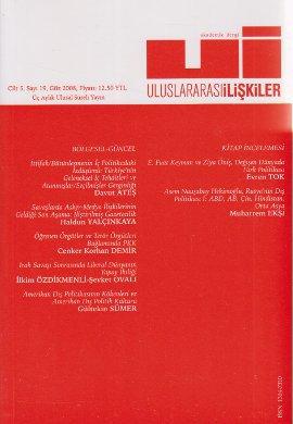 Uluslararası İlişkiler Dergisi Sayı: 19