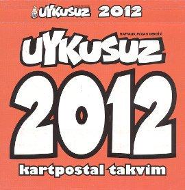 Uykusuz 2012 Kartpostal Takvim