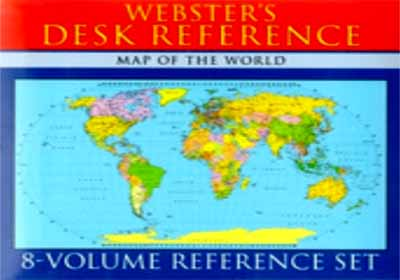 WEBSTER'S DESK REFERENCE - 8 VOLUME SET