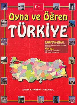 Yap Boz'lu Türkiye Coğrafya Atlası