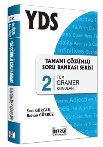 YDS Tamamı Çözümlü Soru Bankası Serisi 2Tüm Gramer Konuları