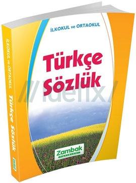 Zambak İlköğretim Türkçe Sözlük