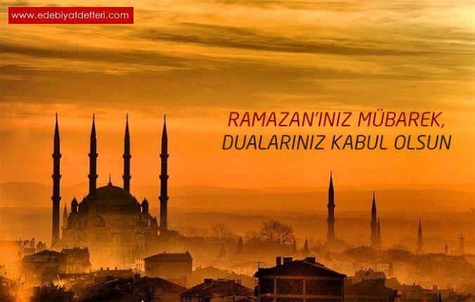 Ramazan Ayi şiiri M Fatih Kahraman şairine Ait şiirler M Fatih