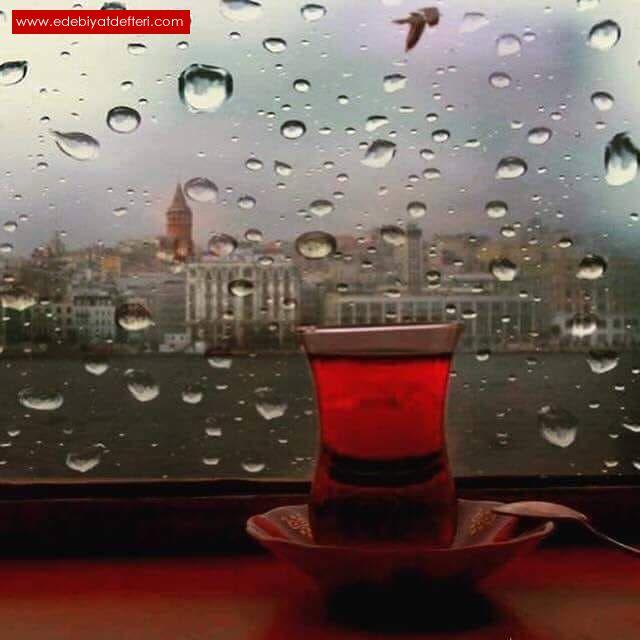 Bir Gün Belki Çay da İçeriz Yağmurda