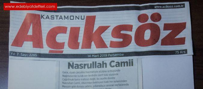 Nasrullah Camii(İstiklâl Marşı ve Kastamonu)