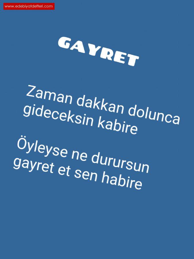 Gayret