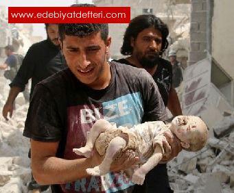 Çocuklar Ölüyor Dünya Utansın.