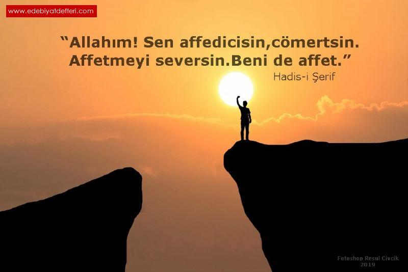 AFFET ALLAHIM - İlâhi