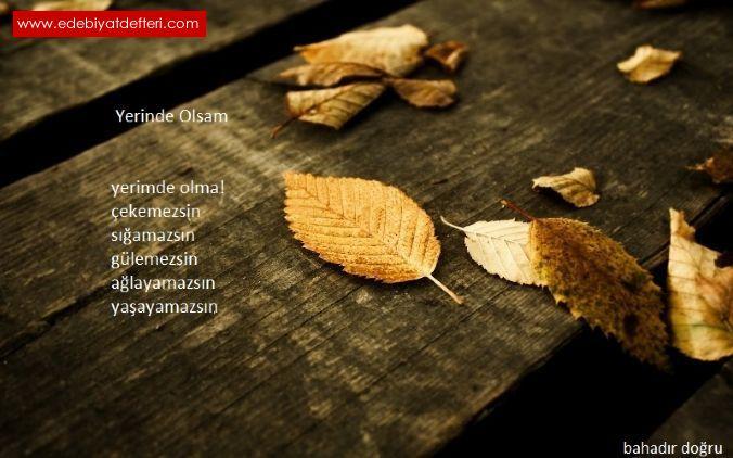 YERİNDE OLSAM (arşiv)