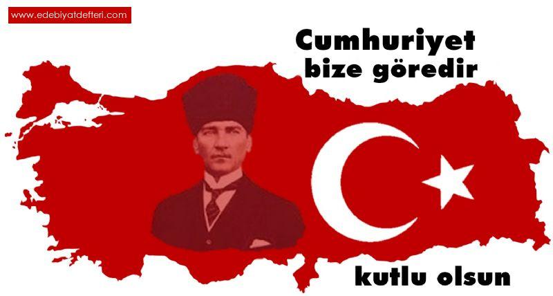 Cumhuriyet Bize Göredir..!