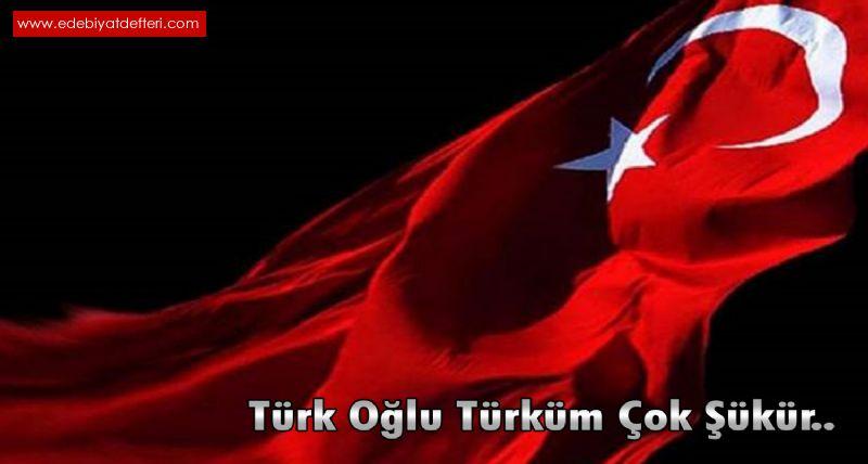 Türk Oğlu Türküm Çok Şükür..