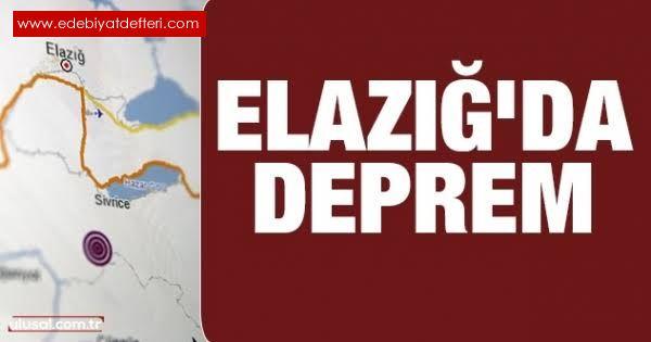 Elazığ Da Ki Depremde