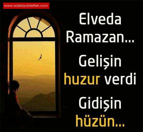 Elvedâ sana Ey Şehr-i Ramazan!..(akrostiş)
