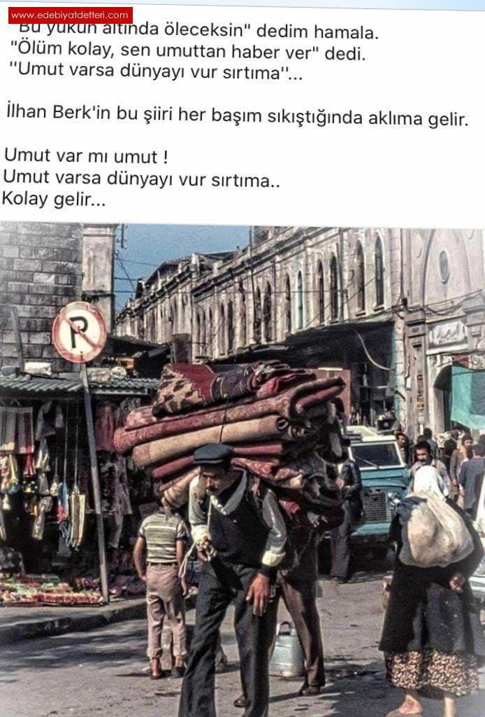 VARSIN  OLMASIN  SEVENİN,ALLAH  VAR ALLAH   YAR , DE.