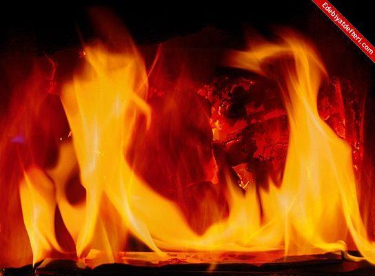 sanadır yangınım...