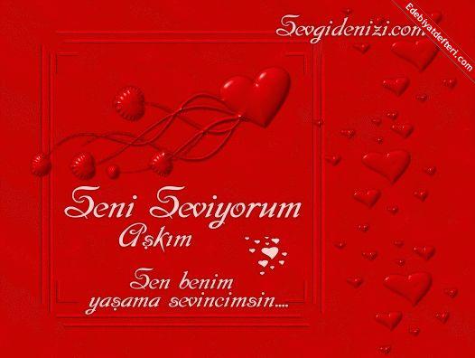 Поздравление любимого на турецком