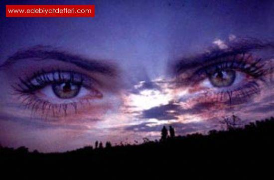 Siyah Gözlerimin Secdeli Bakışı Sensin