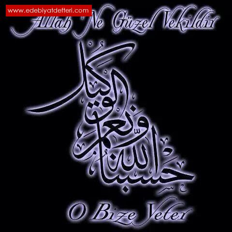 Allah en güzel Vekil
