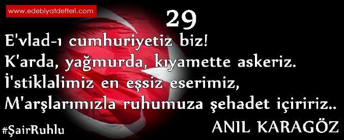 29 EKİM