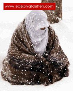 Kar Yağardı Erzurum' a…