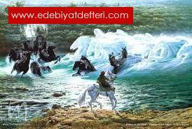 Denize giden atlılar...