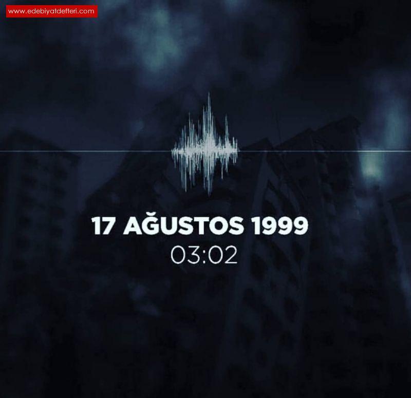 17 Ağustos Ağrısı.. Depremin 20inci Yılı.
