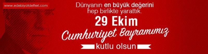 Cumhuriyet 29 Ekim 1923 Tarihinde Yani 96 Yıl Önce Bu Gün İlan Edilmiştir NOKTA