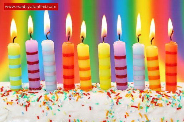 Yaş Günü Partisi Kutlamak Üzerine