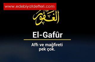 Allah C.C. Mağfireti Lütfü Keremi ihsanı ...