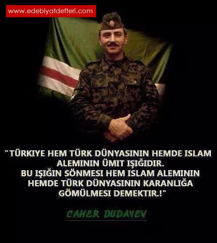 ŞEHİT CAHAR DUDAYEV