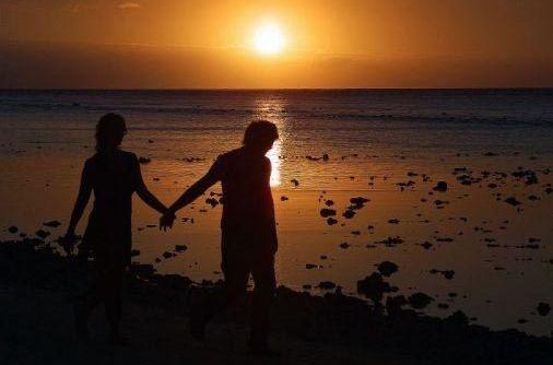 sahilde aşk