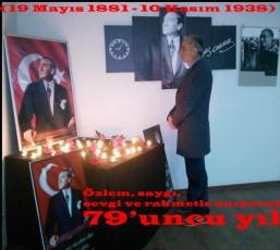 """""""Ulu Önder Gazi Mustafa Kemal Atatürk'ü Anıyoruz."""""""