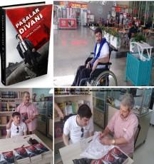 SPASTİK  ENGELLİ  GENÇ  BİR  YAZARDAN  MÜTHİŞ  BİR  POLİSİYE  ROMAN :  ''  PAŞALAR  DİVANI ''