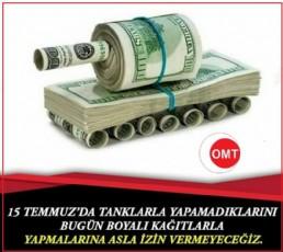 Türk parası dolar karşısında devamlı eriyor,altına endeksli Milli paramız ve  üretim olmadan bize kurtuluş yok...
