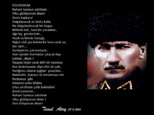 80 nici vefat  yılında Atatürk'ü anarken