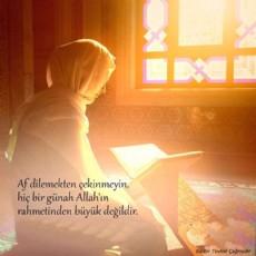 Umud Allah'tır.
