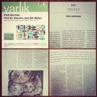 GECECİ (Öykü, Varlık Dergisi, Mayıs 2017)