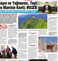 Güneysu Belediye Başkanı Sayın Rıfat ÖZER ile röportaj: Çayın ve Yağmurun, Yeşil ile Mavinin Kenti; Rize