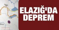 Elazığ'da ki Deprem Sonrası Kenetlenme.