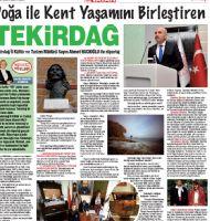 Tekirdağ İl Kültür ve Turizm Müdürü Sayın Ahmet HACIOĞLU ile Röportaj / Doğa ile Kent Yaşamını Birleştiren Tekirdağ