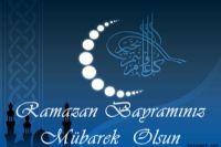 Sanal Dille Ramazan Bayramınızı Kutluyorum.